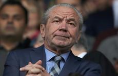 Ex-Spurs chairman Alan Sugar apologises for 'seriously misjudged' Senegal tweet