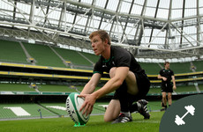 'When I played for Munster, I brought bolognese on the plane instead of the processed food'