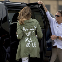 Melania Trump says jacket message at border saying 'I really don't care' doesn't mean anything