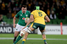 Scannell to start for Ireland after Cronin ruled out with hamstring injury