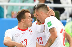 Stoke and Arsenal stars on target as Switzerland earn dramatic late win