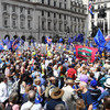 Thousands of pro-EU protesters take part in march for second EU referendum