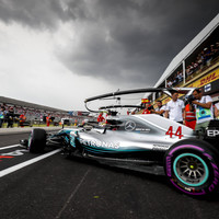 Hamilton takes pole at rain-hit, crash-marred French Grand Prix