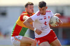 Tyrone end Carlow's rising with comprehensive 10-point victory