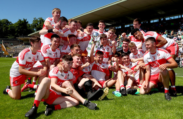 Derry finish strongly to clinch inaugural EirGrid U20 Ulster