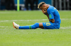 Neymar 'entitled to feel upset', says Brazil team-mate