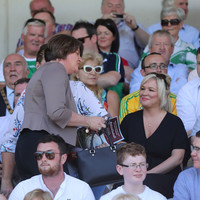 Arlene Foster praised for being first DUP leader to attend Ulster football final
