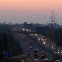 M50 operating with traffic levels that weren't expected until the mid-2020s