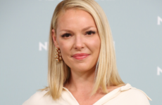 Katherine Heigl has apologised for posting 'inappropriate' photos from a cemetery in New York