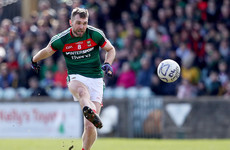 Another injury blow for Mayo as O'Shea facing ten weeks out of action