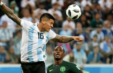 Mikel claims Nigeria denied 'clear penalty' in Argentina loss