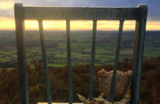 Double Take: The kitchen chair and teddy bear sitting on top of a Wicklow mountain