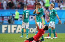 World champions Germany crash out at group stage following Korean humiliation