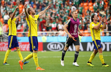 Mexico well beaten by Sweden but both progress to knockouts at Germany's expense