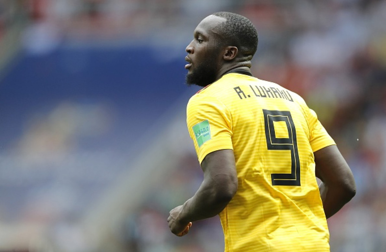 official photos 85338 63539 He's still recovering' - Belgium's top marksman Lukaku ruled ...