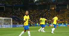 Neymar's influence grows as Brazil cruise through to last-16 meeting with Mexico