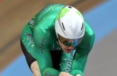 Martyn Irvine secures Olympic track cycling qualification
