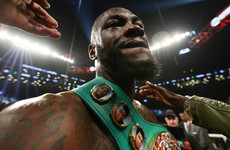 'I'm sorry guys, they played us all': Wilder confirms Joshua fight is off
