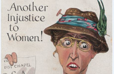 Posters and postcards show how Irish suffragists were 'ridiculed and feared'