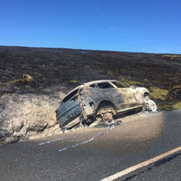 Family stage escape as car engulfed in flames in Dublin Mountains heather fire