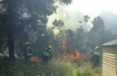 Defence Forces called in as fire crews battle blazes in Co Wicklow