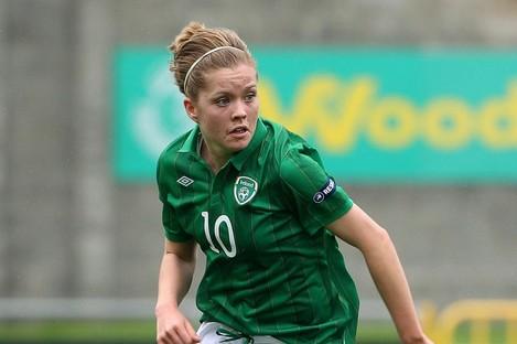 Denise O'Sullivan scored for Ireland.