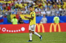 The golden boy of Colombian football a major doubt for crunch England encounter