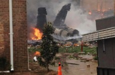 US fighter jet crashes into residential area in Virginia