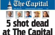 'We're putting out a damn paper' - Newspaper where five were killed goes to print