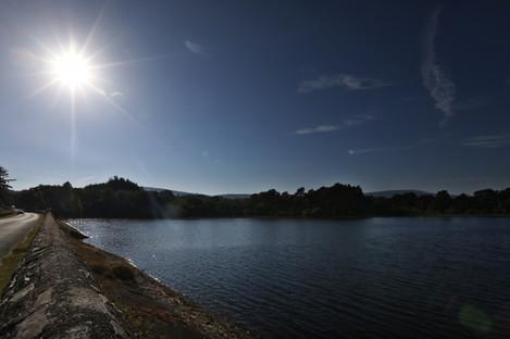 Roundwood reservoir in Wicklow earlier this week.