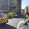 Collision between coach and pedestrian on Dublin's Dame Street causes traffic delays in city