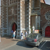 Ice cream van smashes through church doors in Kerry