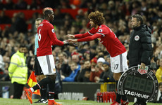78410aa615a Big Marouane Fellaini signs two-year contract extension with Manchester  United