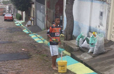 #NewbridgeOrNowhere, Gabriel Jesus painting streets in Brazil and more tweets of the week