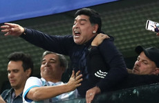 FIFA backs 'football great' Maradona but urges World Cup star to be respectful