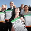 Adams outlines seven-point plan for a United Ireland