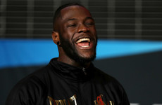 Wilder says he'll now accept nothing but '50-50 straight across' if Joshua fight comes around again