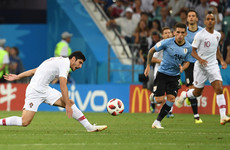 As it happened: Uruguay v Portugal, World Cup last 16