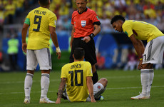 Colombia receive positive James Rodriguez update ahead of England clash