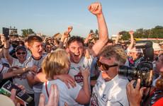 Famous Newbridge football night, Kildare claim scalp, Mayo run out of steam