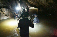 Easing of bad weather opens crucial window in search for missing football team in cave