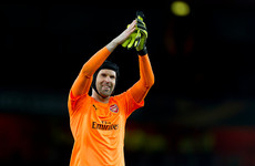 Cech snubs move to Napoli to battle Leno for Arsenal's number one jersey