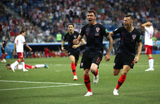 As it happened: Croatia vs Denmark, World Cup last-16