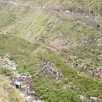 Dozens killed after overcrowded bus plunges off mountain road in India