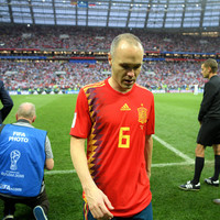 Iniesta announces international retirement following Spain's World Cup exit