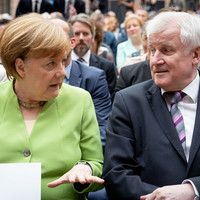 Future of Merkel coalition throw into doubt as German interior minister offers resignation