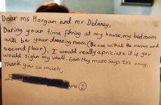 Sharon Horgan shared a sweet letter from a little girl while Catastrophe filmed in her home