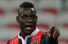 Balotelli fails to report for Nice training on Patrick Vieira's first day in charge