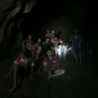 'You're very strong': Thai football team lost for nine days in a cave have been found