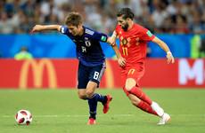 As it happened: Belgium v Japan, World Cup last 16